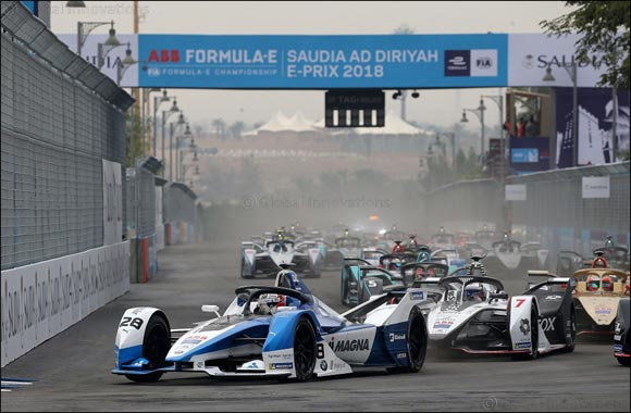 Triumphant debut: Félix da Costa wins for BMW i Andretti Motorsport at Formula E season opener