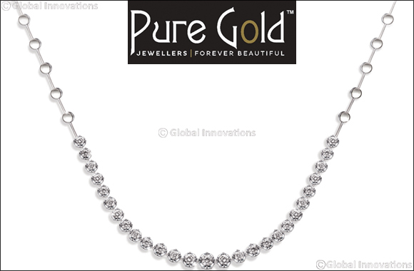 Pure Gold Jewellers celebrates the festive season with new diamond necklace designs on 'cost price' offer