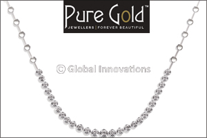 Pure Gold Jewellers celebrates the festive season with new diamond necklace designs on 'cost price'  ...