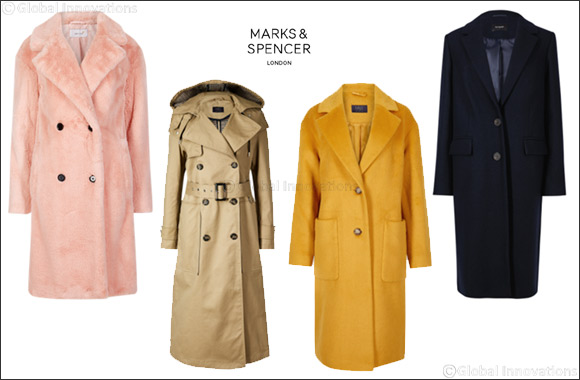 Cosy, chic coats from Marks & Spencer