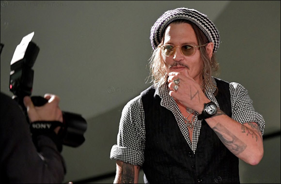Johnny Depp Wears a Corum Bubble Skull