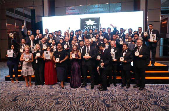 Dubai International Hotel Wins 3 Awards at the Middle East Hospitality Excellence Awards 2018