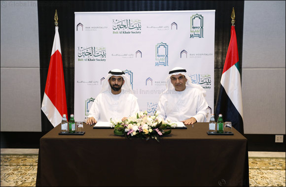 RAK Hospitality Holding Signs MoU  with Beit Al Khair Society