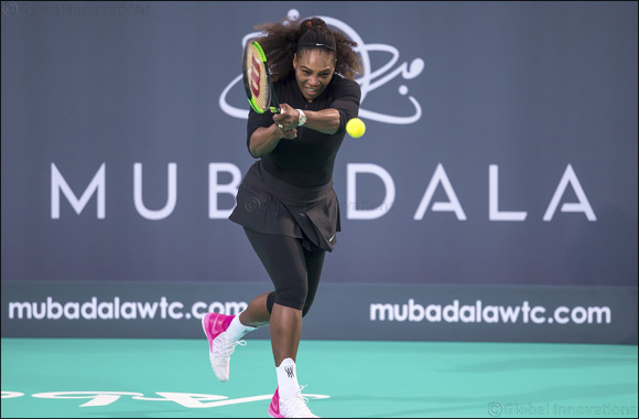 Williams' Sisters Attendance at the Mubadala World Tennis Championship Set to Enhance Abu Dhabi's Role in Encouraging Young Women to Get Into Sport