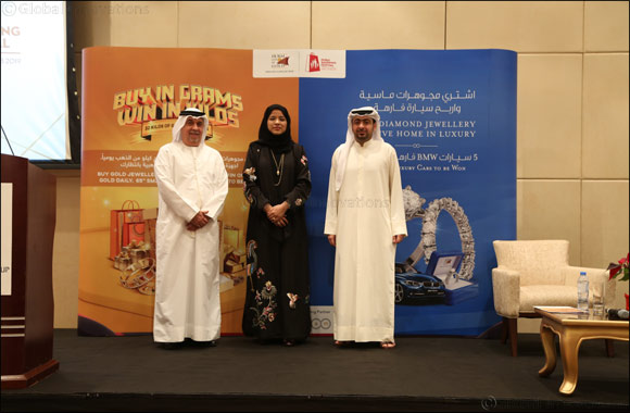Dubai residents to celebrate two exclusive promotions for Gold and Diamond jewellery for the first time, this Dubai Shopping Festival