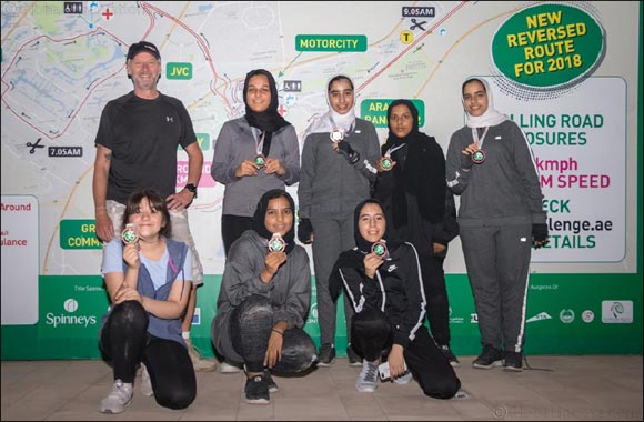 Sharjah Girl Guides Cycling to Compete in Spinneys Dubai 92 Cycle Challenge