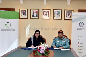 Sharjah Museums Authority signs MoU with Sharjah Police to help inmates learn about emirate's rich h ...