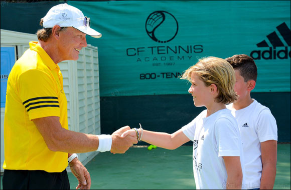 Three-year Deal Will See CF Tennis Academy Operate From DSC's Four World-class Tennis Courts and Facilities