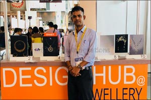 Malabar Gold & Diamonds designer won 'The Best Designer' award in the contest conducted by DESIGN HU ...