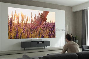 New Cinebeam Laser 4k Projector From LG With Ultra Short Throw Technology Debuts at CES 2019