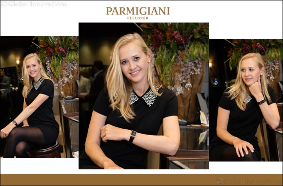 "Jessica Korda joined the Parmigiani Fleurier's ""Friends of the Brand"""