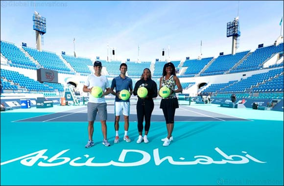 What a Lineup! Four of Tennis' Greatest Players Officially Mark the Launch of 11th Edition of the Mubadala World Tennis Championship