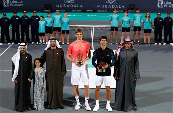 World Number One Novak Djokovic Wins 11th Edition of the Mubadala World Tennis Championship