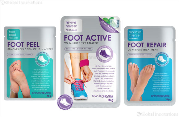 Get softer, smoother feet at home with Skin Republic