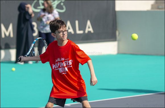 Special Olympics Athletes Train With Tennis Legend Kevin Anderson