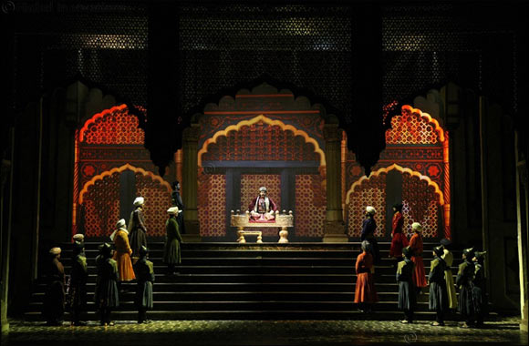 Arabic calligraphy to play a star act  in Mughal-e-Azam: The Musical
