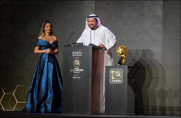 du Presents 'Coach Career Award' to Fabio Capello On One of Football's Most Prestigious Awards Stages