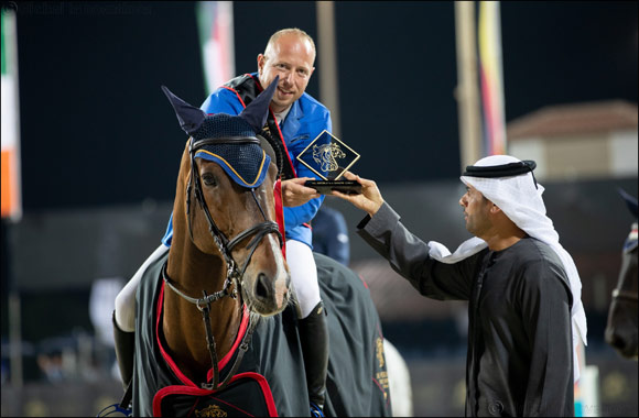 Syria's Speedy Gharib Lands Opening Class of the CSI1* Al Shira'aa International Horse Show®