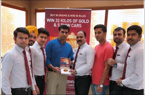 Malabar Gold DSF Winner Photo for Release - Babul Hussain
