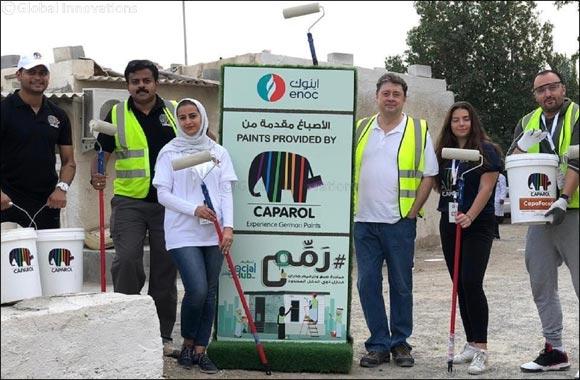 Caparol Paints renovates houses of 30 underprivileged families in Dubai