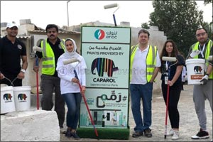 Caparol Paints renovates houses of 30 underprivileged families in Dubai