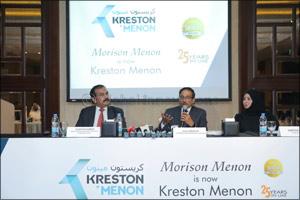 Morison Menon strategically integrates with Kreston International  and rebrands itself as Kreston Me ...