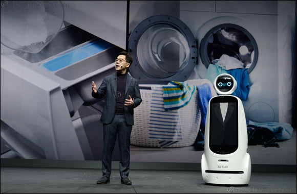 LG Electronics' Promise of AI for an even Better Life Delivered at CES 2019 Keynote