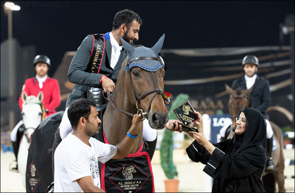 Shane Breen Wins Grand Prix Qualifier at Al Shira'aa International Horse Show for the Second Year