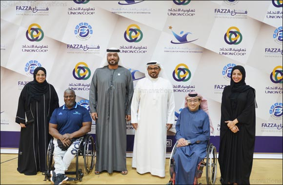 Union Coop Among the 'Elite' Sponsors of The FAZZA Championships for People of Determination 2019