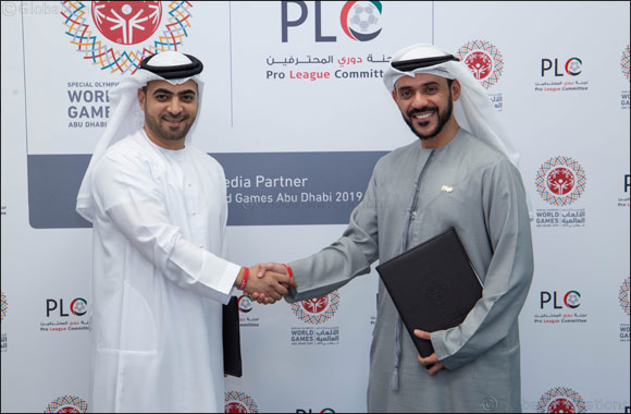 Special Olympics World Games Abu Dhabi 2019 Partners With Uae Pro League Committee to Spread Message of Inclusivity
