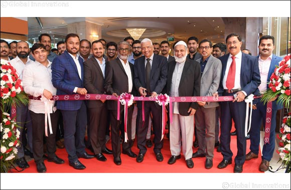 Malabar Gold & Diamonds opens a new showroom in Millennium Dubai Airport Hotel to cater to international transit passengers