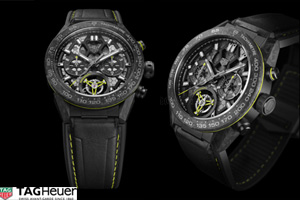 Tag Heuer Demonstrates Watchmaking Mastery With Its New Carrera Calibre Heuer 02t Tourbillon Nanogra ...