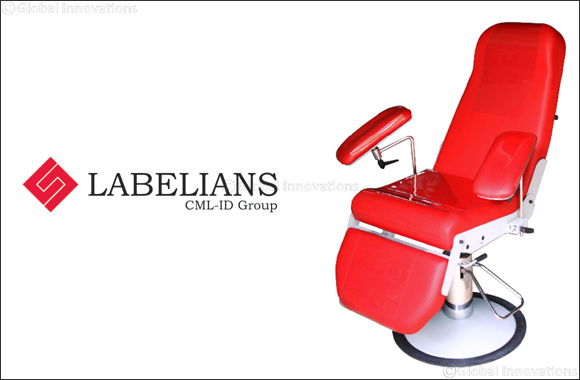 LABELIANS (a CML-ID Group company) Ready to Unveil Its Fmbio5 Bioleader® Armchair for Blood Sampling