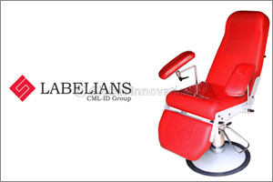 LABELIANS (a CML-ID Group company) Ready to Unveil Its Fmbio5 Bioleader� Armchair for Blood Sampling
