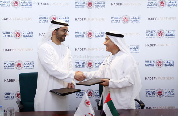 Hadef & Partners signs Memorandum of Understanding with Special Olympics World Games Abu Dhabi 2019