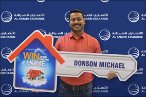 Indian wins �Dream Home' grand prize from Al Ansari Exchange