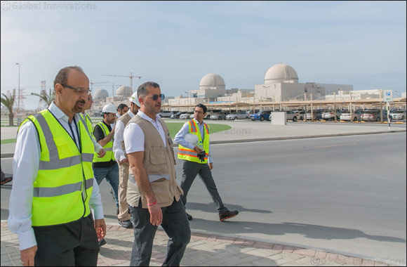 The Kingdom of Saudi Arabia's Minister of Energy, Industry, and Mineral Resources Visits Barakah Nuclear Energy Plant