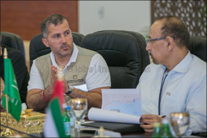 The Kingdom of Saudi Arabia's Minister of Energy, Industry, and Mineral Resources Visits Barakah Nuc ...