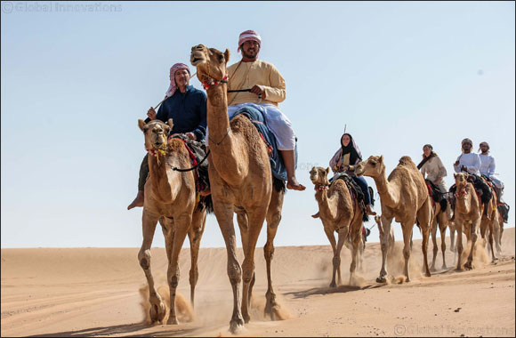 UAE residents go on a two-week Camel Trek across the UAE desert