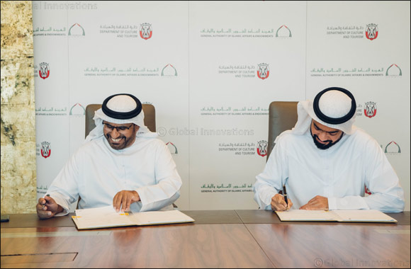The Department of Culture and Tourism – Abu Dhabi Signs MoU with General Authority of Islamic Affairs and Endowments