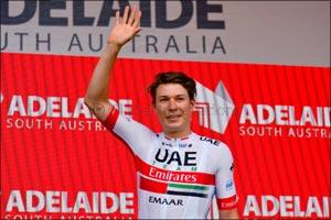UAE Team Emirates' Jasper Philipsen Wins Stage 5 at the Santos Tour Down Under