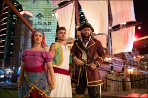 Land-ho! The Pirates have Docked at Dubai Festival City Mall with the launch of the new IMAGINE show