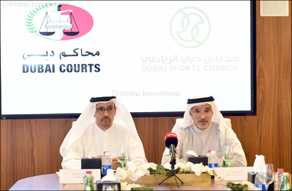 Dubai Sports Council and Dubai Courts sign MOU to support education and promote social values