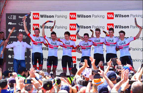 UAE Team Emirates Wins 2019 Tour Down Under Team Classification
