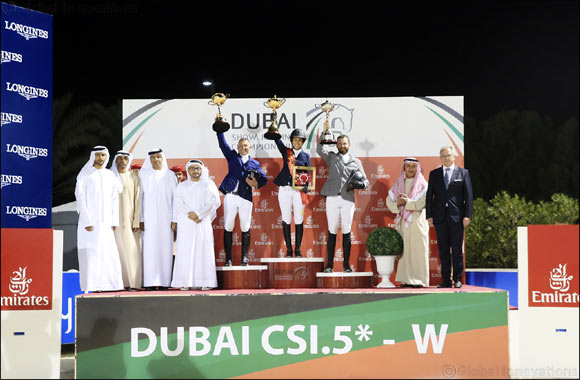 Dubai Show Jumping Championship CSI5*-W Comes to an Impressive Conclusion
