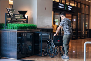Mall of the Emirates introduces complimentary wheelchair service at all entrances for easy access to ...
