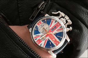 The Graham Chronofighter Vintage UK Ltd takes unity into its own hands