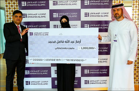 Emirates Islamic announces winner of AED 1 million cash prize for award-winning Kunooz Savings Account