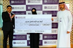 Emirates Islamic announces winner of AED 1 million cash prize for award-winning Kunooz Savings Accou ...