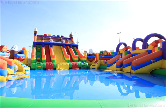 Jump, Slide and Bounce at Pirates of the Bay Fun Park